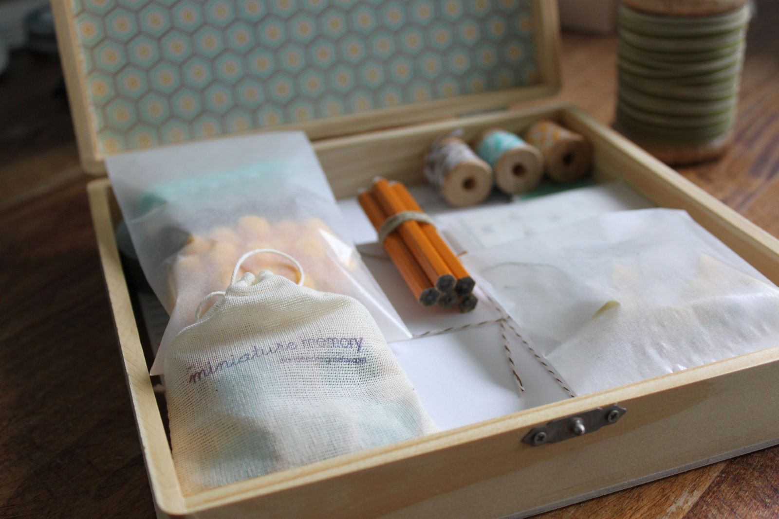stationery kit a handmade gift