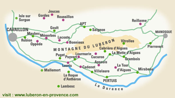 Mariage aur lie et romain luberon 2010 - La durance en provence ...
