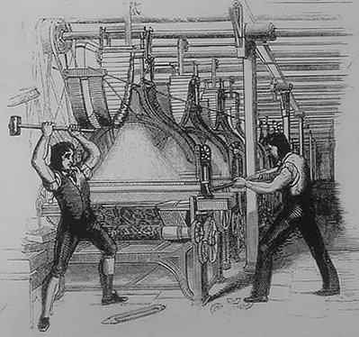 Ned Ludd dio origen a un movimiento contestario contra la revoluci?n industrial