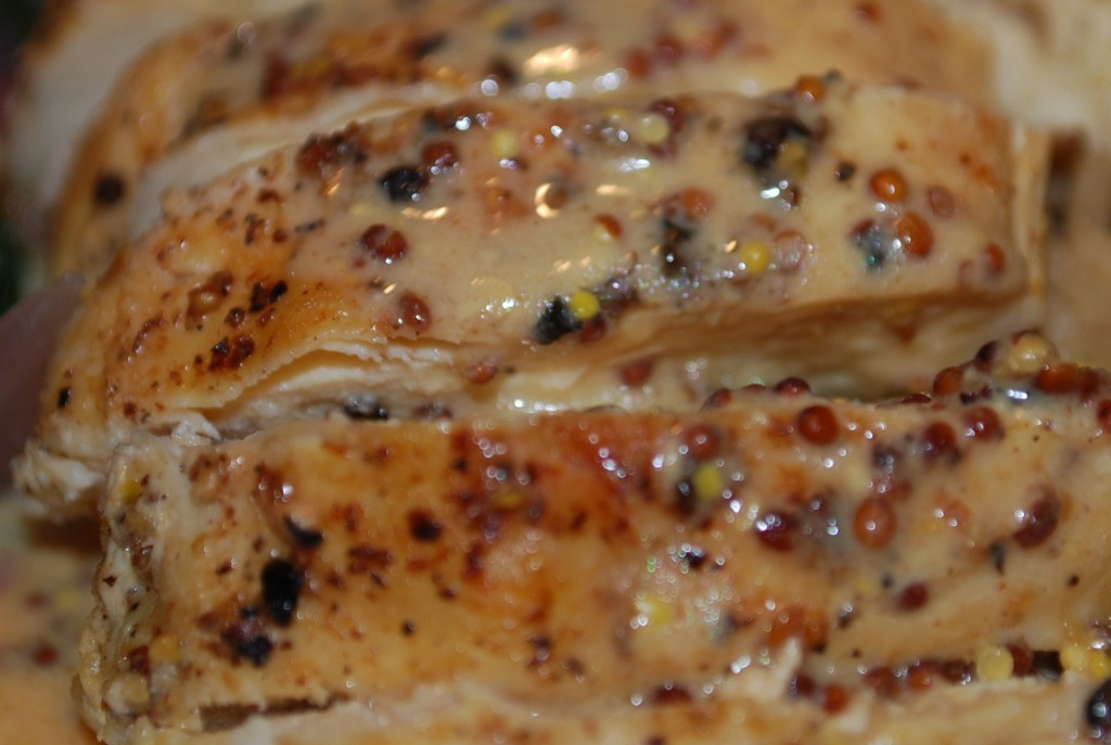 Mike's Recipes: Pan-Seared Chicken with Mustard Sauce