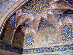 Inside Akbar's Tomb, Agra