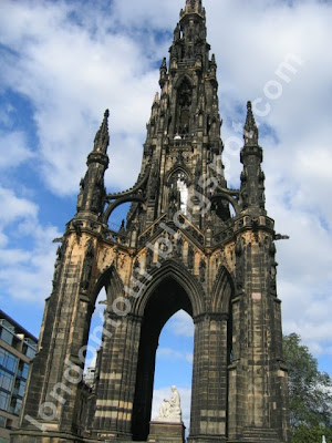 The Scott Monument Edinburgh