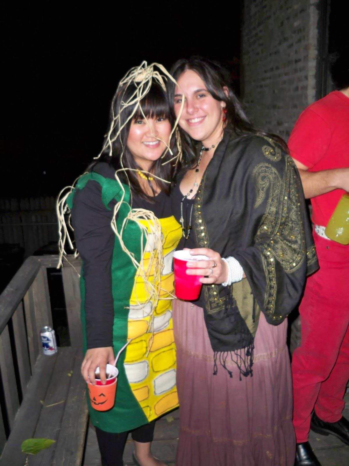 rachelle laughs.: a corny halloween!