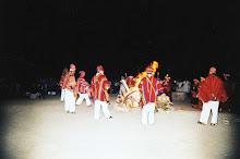 Danzas previas al Ritual de la Pacha Mama Caral 2008