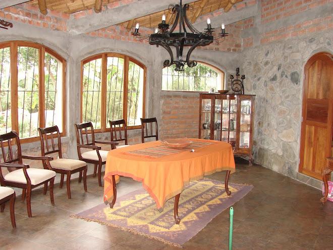 Casas de hostedaje en Shambala Santa Rita dic/2009