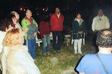 Meditacion Shambala Santa Rita/ miembros de Ramha 7/08/2008 prev a la ceremonia del 888 Caral