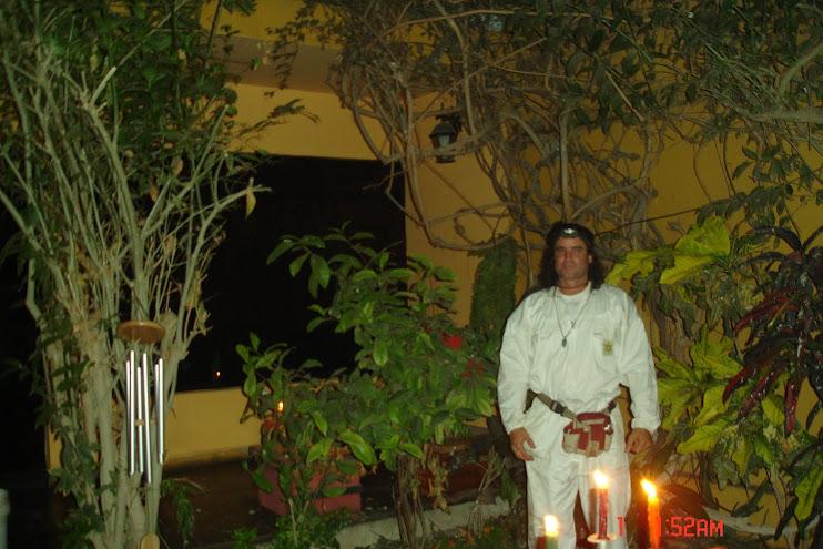 Ritual del Año Nuevo 2009 Huacho Peru