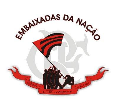 Logo oficial do projeto Embaixadas da Nação