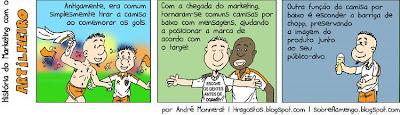 Quadrinhos - Futebol e marketing - O Artilheiro