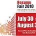 Lexmark's Resume Fair 2010