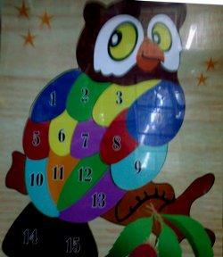 Puzzle Burung Hantu