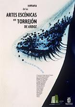 Cartel Artes Escénicas en Torrejón