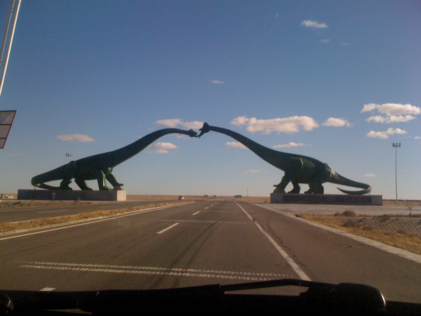 These Dinosaur Statues