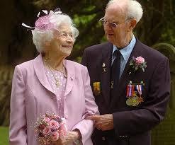 Франк и Анита Милфорд, самые продолжительные браки