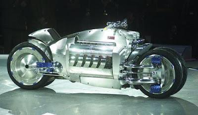 мотоцикл Dodge Tomahawk V10 Superbike