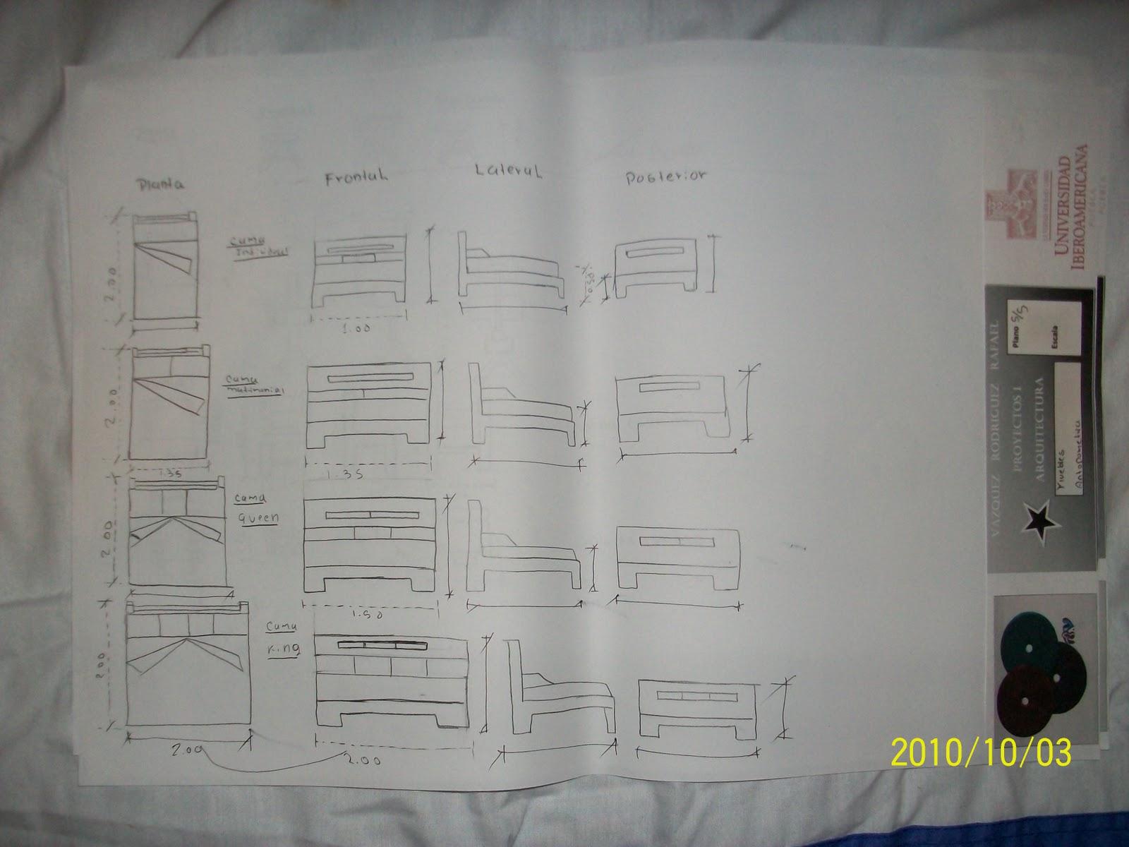 Absolutamente arquitectura medidas de muebles for Medidas de arquitectura