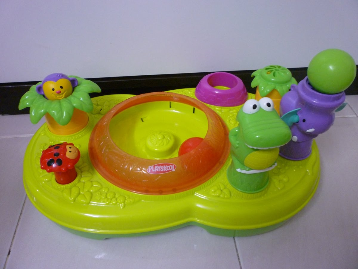 FP Mania: Playskool Busy Ball-Tivity Center