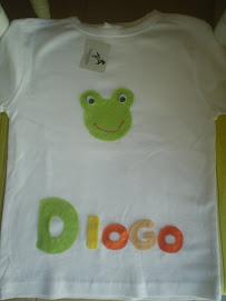 T'shirt com nome