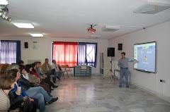 Εκπαίδευση των καθηγητών του 3ου ΕΠΑΛ στον διαδραστικό πίνακα