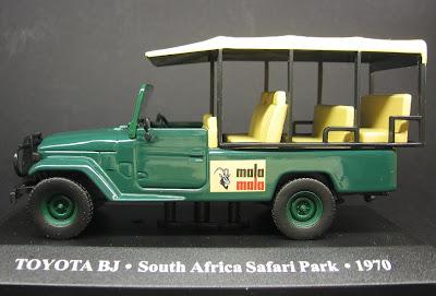 Miniatura - Toyota BJ Safari Park - África do Sul - 1970