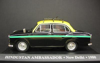 Hindustan Ambassador Taxi