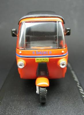 Bajaj - Jacarta 1990 - Miniatura Táxi