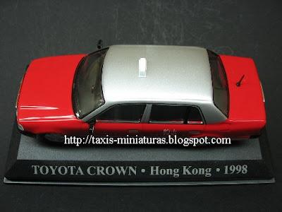 Toyota Crown - Hong Kong - 1998 - Miniatura Táxi