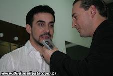 LOCUTOR PAGANINI ENTREVISTANDO PADRE FÁBIO DE MELO