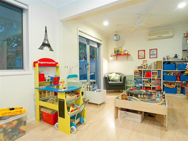 Playroom and office diy renovation for Office playroom