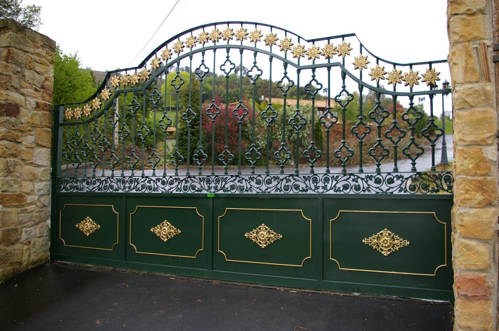Puertas metalicas gij n nuevas fotos artesania en hierro - Puertas de entrada metalicas ...