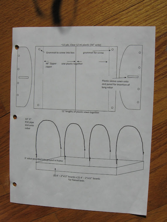 Hoophouse Plans