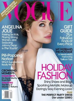 Angelina Jolie sexy Vogue