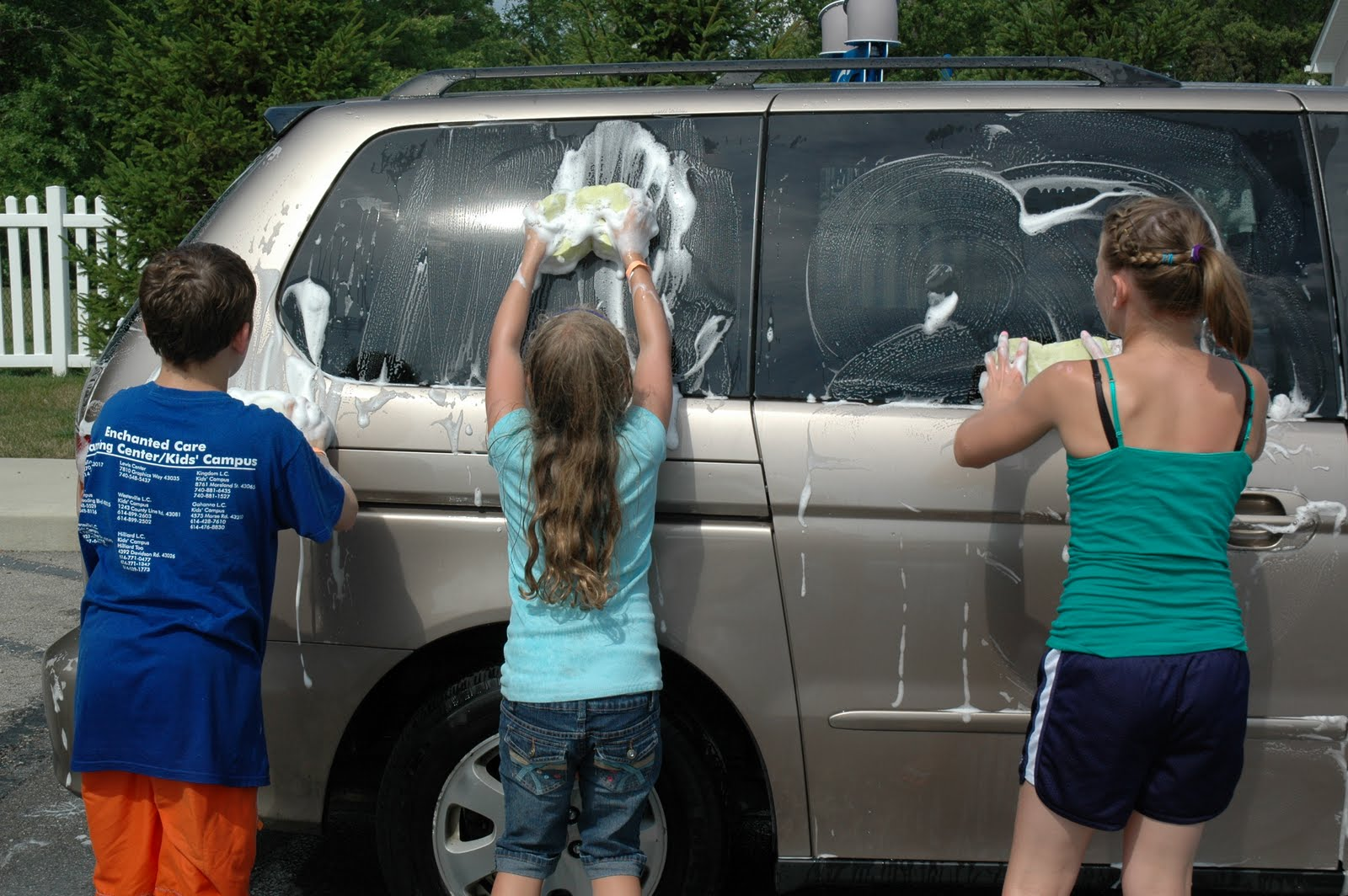 Camp Zone 2010 Crew X Charity Car Wash