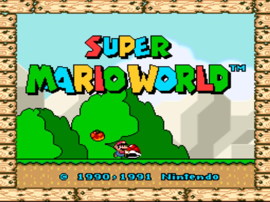 Super Mario World  Yoshi S Island Wad