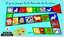 EL GRAN JUEGO DE LOS ANIMALES DE LA SELVA