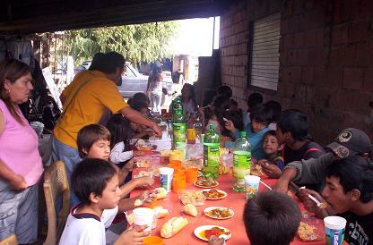 Servicio social for Proyecto social comedor comunitario