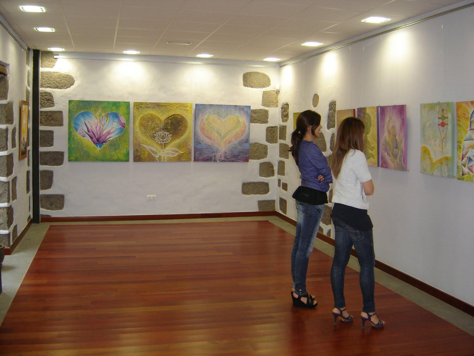 La muestra de este pintor grancanario puede ser visitada de 0800 a 15