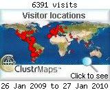 Visitas en 2009