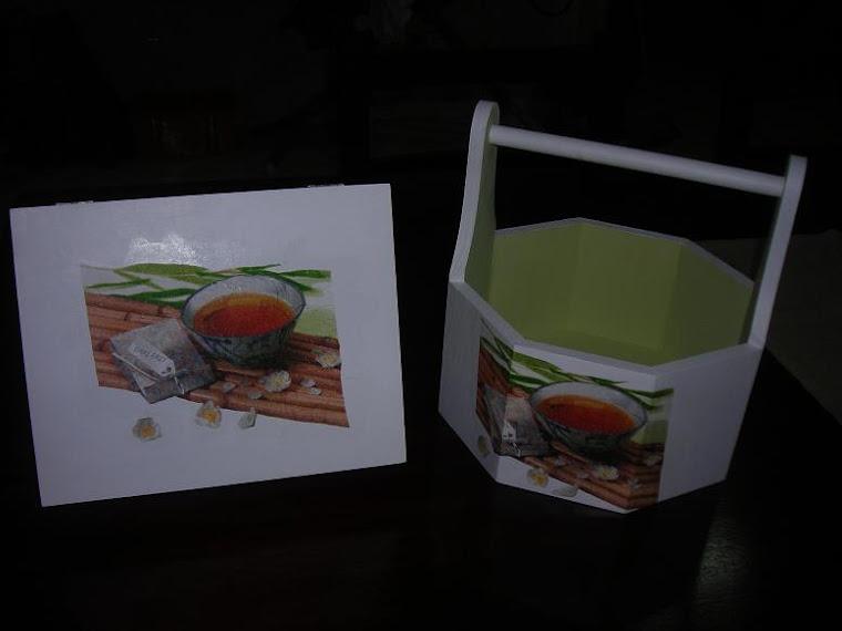 caixa e fruteira