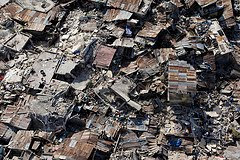 Haiti earthquake destruction photo by United Nations Development Programme