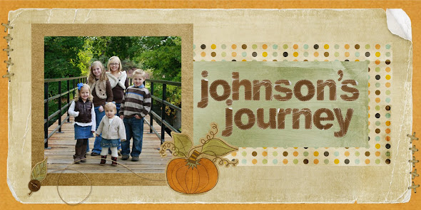 The Johnson's Journey...