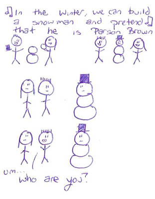 Who is Parson Brown In the winter we can build a snowman and pretend that he is parson brown