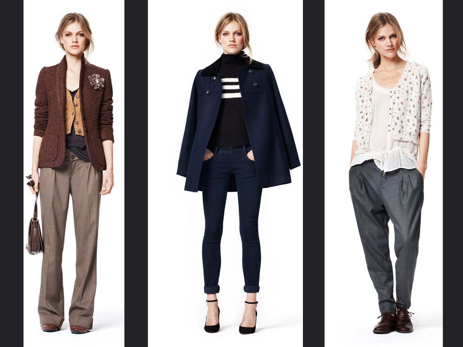 Show The News !!: COLLECTION ZARA WOMAN LOOKBOOK