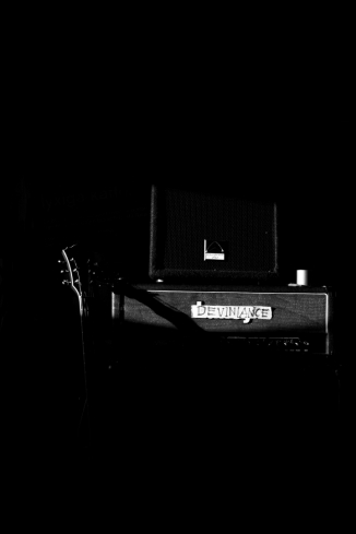 Deviniance -  A post/sludge band from Nyköping, Sweden.