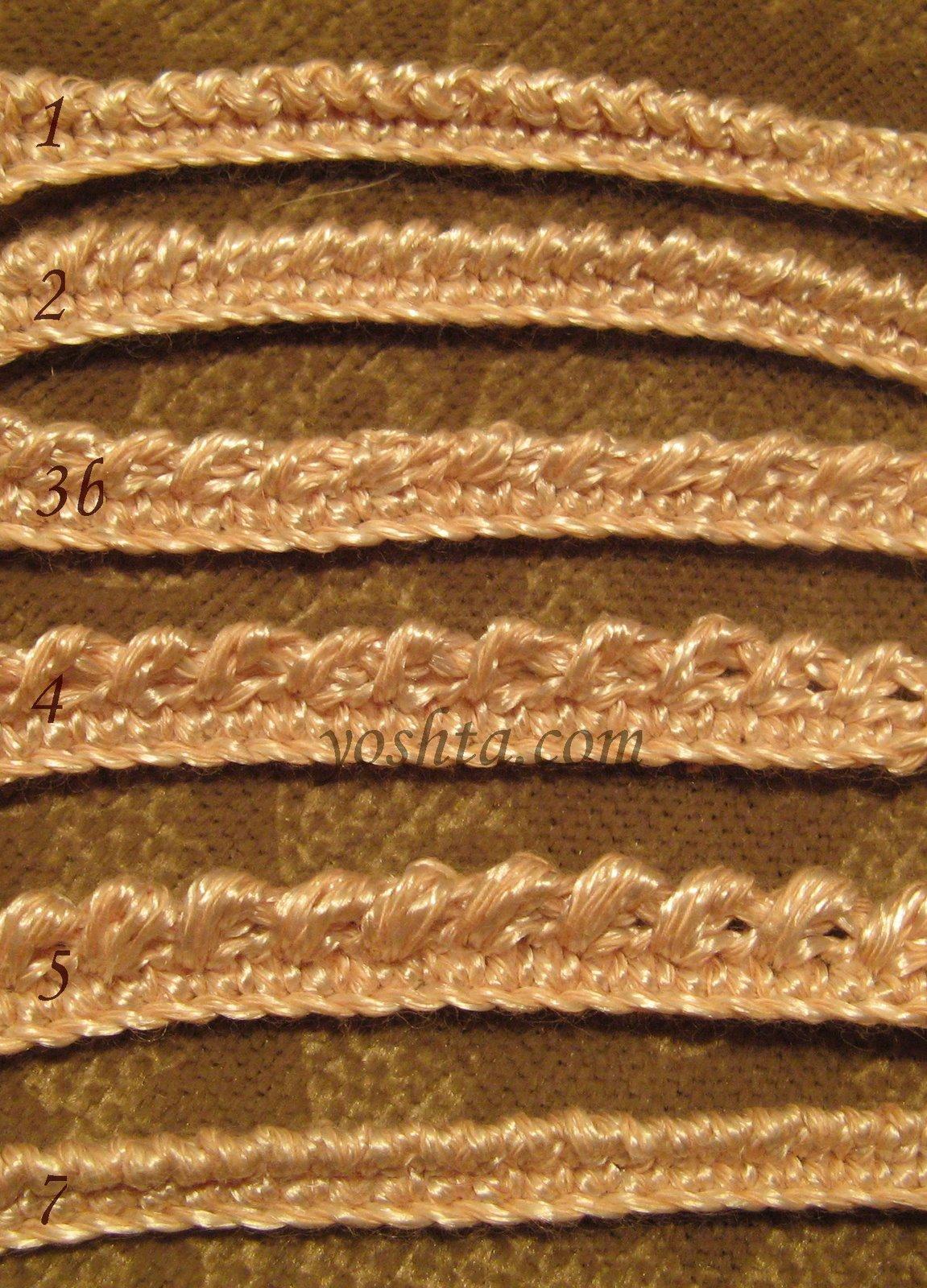 вязание спицами и крючком, схемы