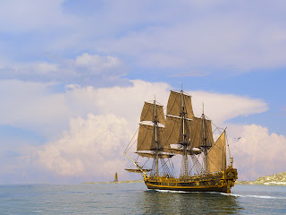 HD 3D Sailing Ship Wallpapers