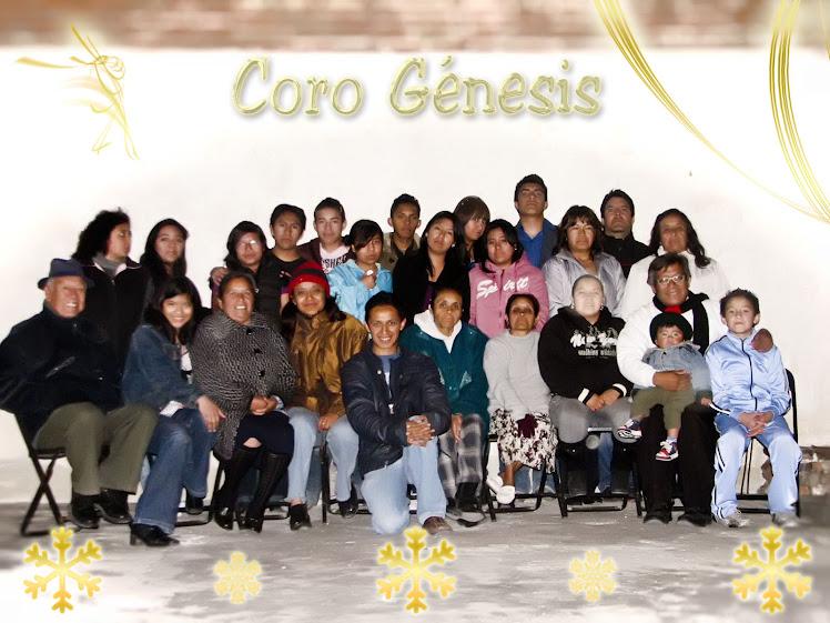 Coro génesis y familiares