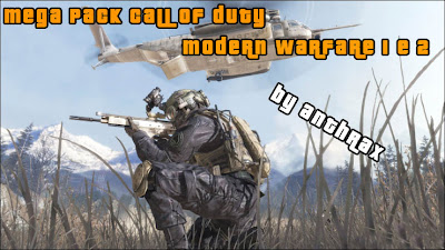 Mega Pack Call of Duty MW1,2 Capa+Mega+Pack