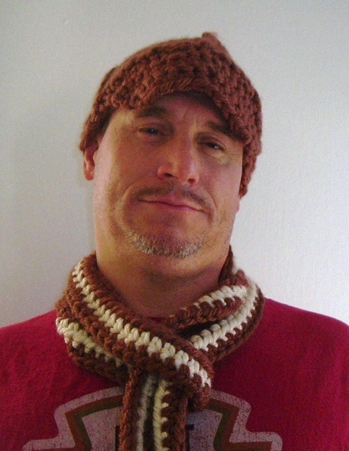 Pattern Hybrid Knit And Crochet Newsboy Hat Knuttinbutyarn