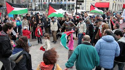 Dansen voor Palestina